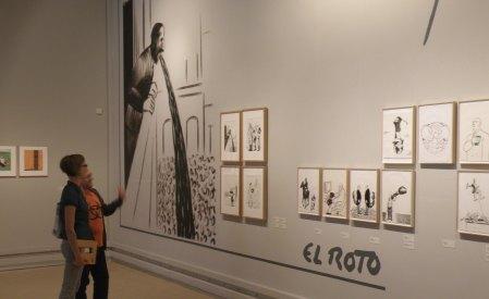 Exposición 'OPS/El Roto/Rábago'. Universitat de València. Foto: HomoCultum