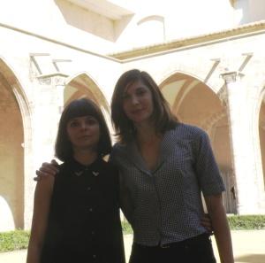 Inma García (izq.), dirección técnica, junto con Meritxell Barberá, dirección artística. Foto: HomoCultum