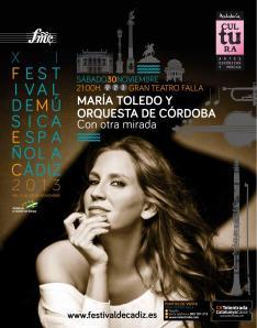Concierto de María Toledo en Cádiz // Foto: María Toledo