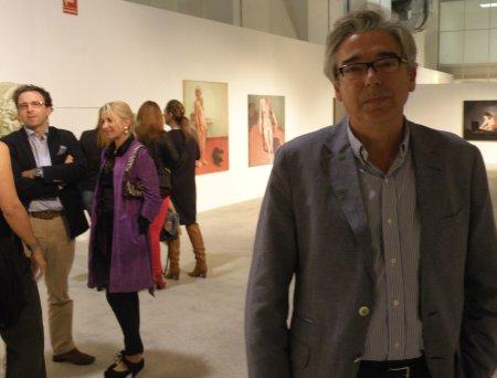 En primer plano, Juan Antonio del Pino / Foto: Homocultum