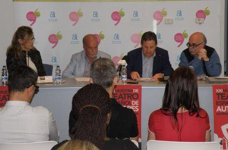De izq. a dcha.: Yolanda Sánchez, Miguel Valor, José Luis Ferris y Guillermo Heras / Foto: Homocultum