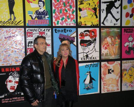 Lluís Fernández y Mª Jesús Puchalt en Ídolos Pop (Muvim) / Foto: Homocultum
