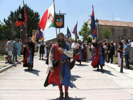 Desfile en las Jornadas mediaves cidianas de Vivar del Cid (Burgos) / Foto: Consorcio Camino del Cid