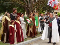 Jornadas medievales Vivar del Cid /Foto: Asoc. Vivar Cuna del Cid
