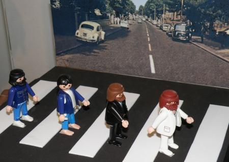 Recreación de Los Beatles / Foto: Homocultum