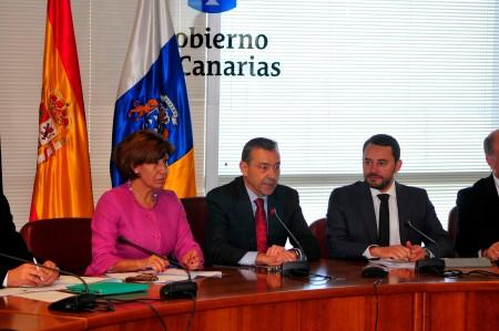 Paulino Rivero preside el acto de constitución / Foto: HomoCultum