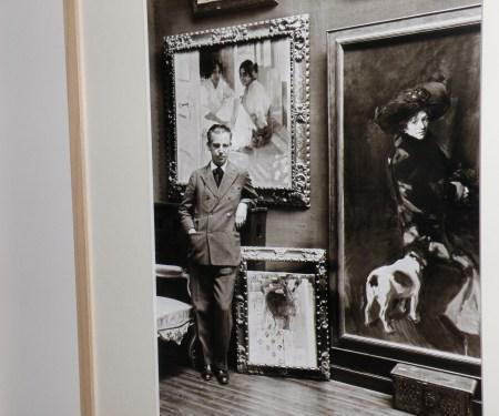 Joaquín Sorolla García, hijo de maestro impresionista, en el Museo Sorolla de Madrid. 1931 / Foto: Homocultum