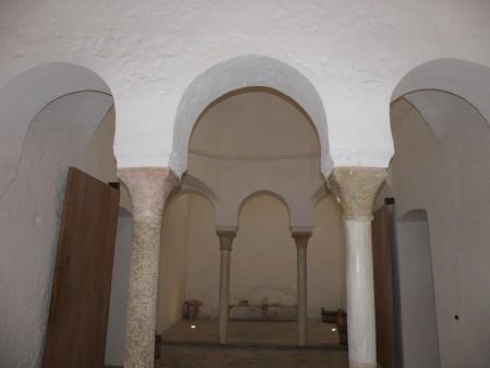 Sala templada de los Baños del Almirante / Foto: Homocultum