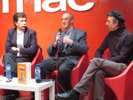 Javier Urra, Jaime Barrientos y Toni Marmota / Foto: HomoCultum