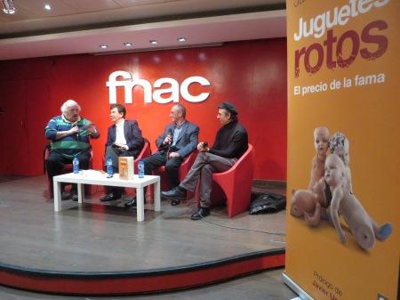 Rafael Fernández, Javier Urra, Jaime Barrientos y Toni Marmota / Foto: HomoCultum