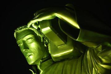 Detalle del monumento al nazareno / Foto: Jesús Batanero