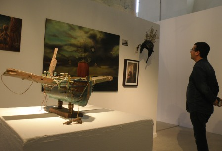 Exposición de J.L. Serzo en Las Cigarreras (Alicante) / Foto: Homocultum