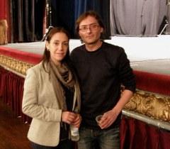 Marta Fernández y José Huertas en el teatro Principal de Valencia / Foto: Homocultum