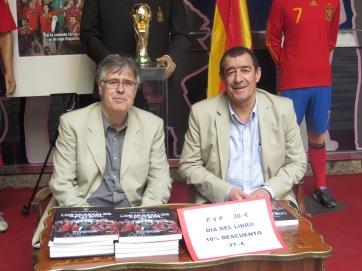 Juan Antonio Bueno (izda) y Miguel Ángel Mateo (dcha) / Foto: HomoCultum