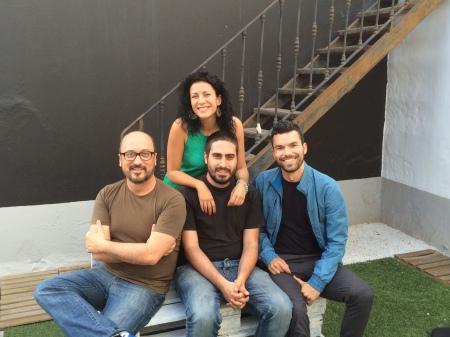 Yanely, Gustavo, Dani y José   / Foto: HomoCultum