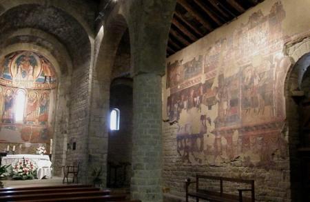 Interior de Santa Maria de Taüll, también de 1123 / Foto: Homocultum