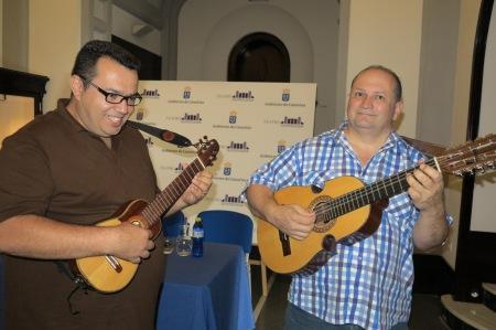El canario David León y el puertorriqueño Edwin Colón / Foto: Prensa UnaHoramenos