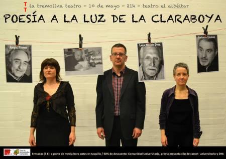 Poesía a la luz de la Claraboya / Foto: María Sola